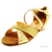 золотые туфли с посыпкой