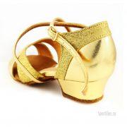 золотые туфли для девочки