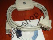 Кабель переходник (COM-порт) х (USB) с драйвером