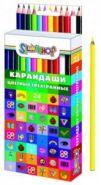 Карандаши трехгранные EMOTIONS (24 цвета) (134190-24)