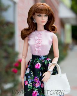 Коллекционная кукла Барби Сладкий Чай - The Barbie Look Collection Barbie Doll  Sweet Tea  2016