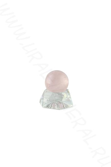 Шар (20 мм) - Розовый кварц