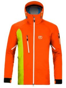 Ortovox La Grave Jacket orange