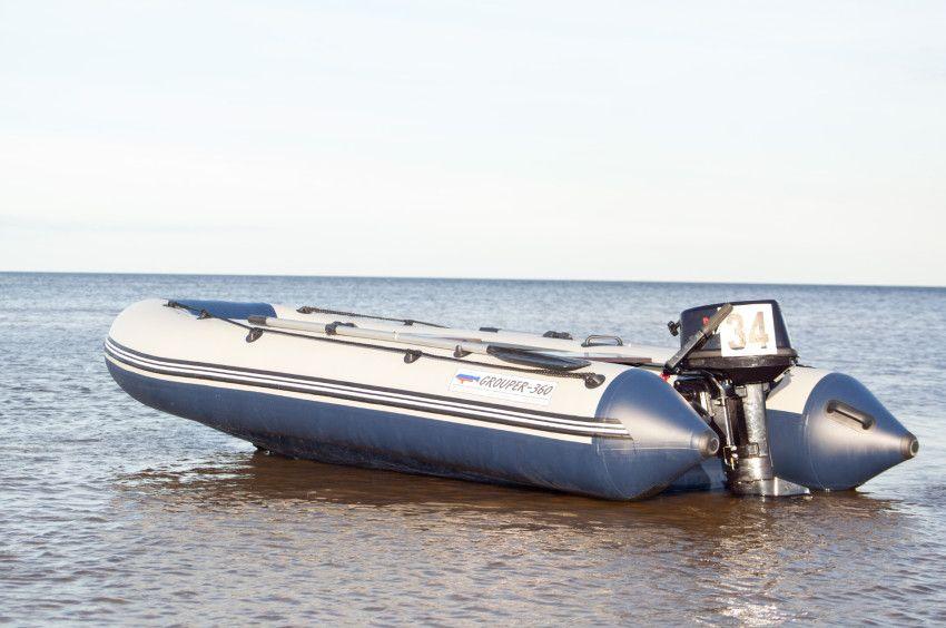 Лодка «Групер» 360