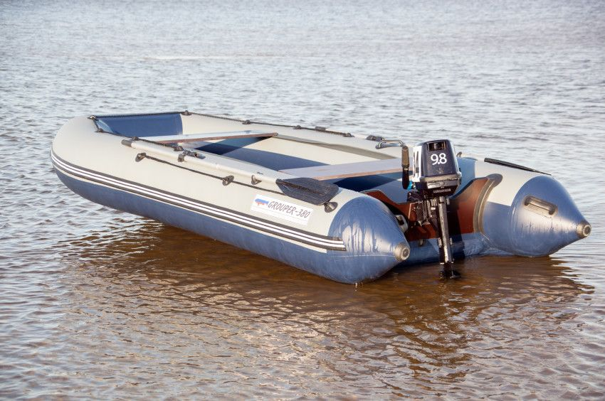 Лодка «Групер» 380