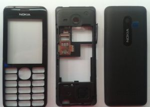 Корпус Nokia 206 (black)