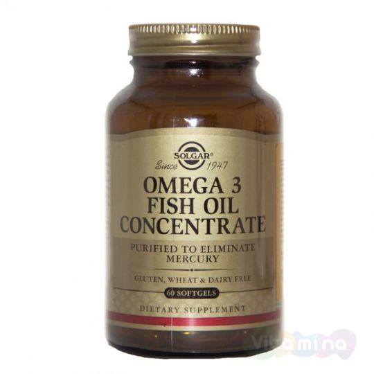 Солгар Концентрат рыбьего жира Омега-3