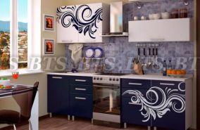 Кухонный гарнитур с фотопечатью «Индиго» 2,0 м