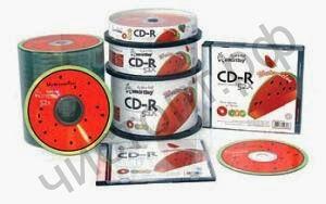 Smart Buy CDR 80 52x Fresh-Watermelon CB-10 арбуз