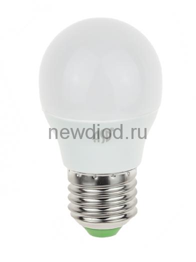 Лампа светодиодная LED-ШАР-standard 5Вт 160-260В Е27 3000К 450Лм ASD