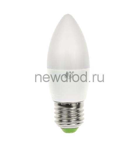 Лампа светодиодная LED-СВЕЧА-standard 5Вт 160-260В Е27 3000К 450Лм ASD
