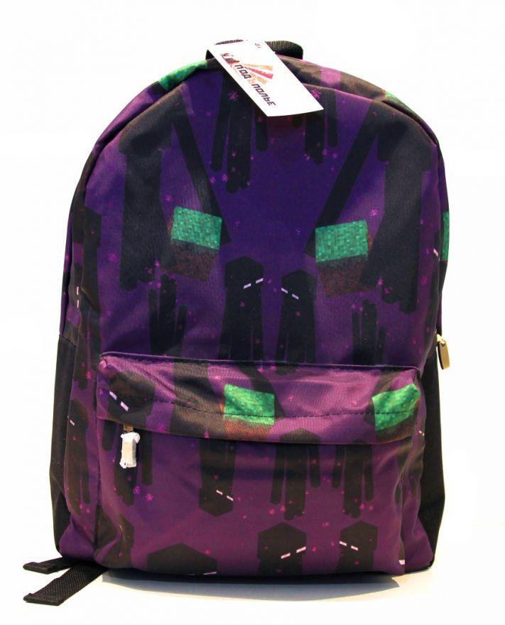 Молодежный рюкзак ПодЪполье Minecraft-14