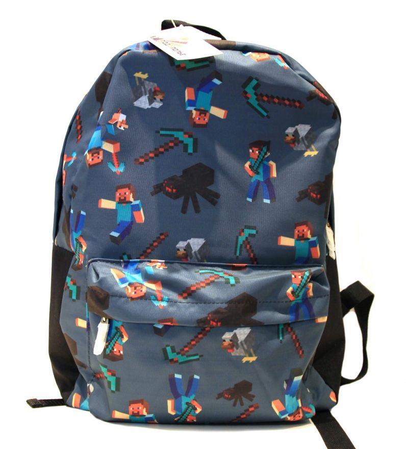 Молодежный рюкзак ПодЪполье Minecraft-15