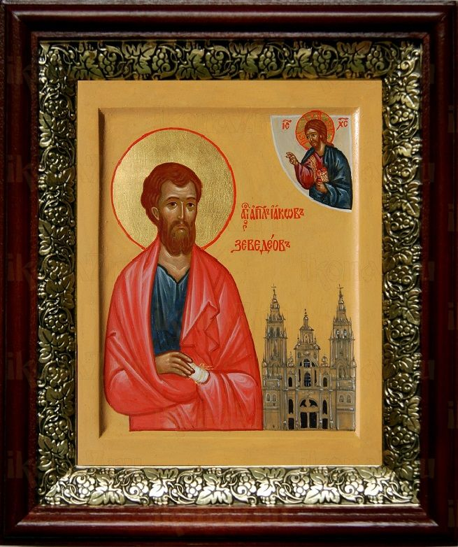 Иаков Заведеев (19х22), темный киот
