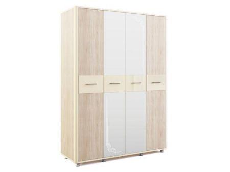 «Оливия» Шкаф четырехдверный