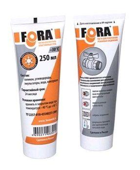 Паста для уплотнения резьбовых соединений FORA 250 гр