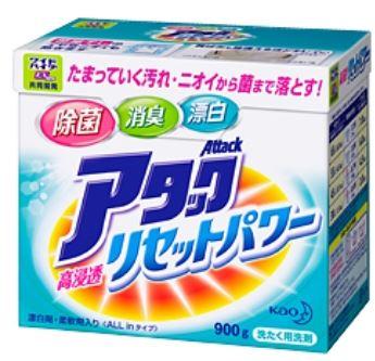 Японский стиральный порошок-концентрат для белого и цветного белья KAO Attack All In в ассортименте