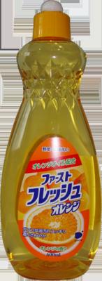 """107325 """"Daiichi"""" Гель для мытья посуды с ароматом апельсина, 600 мл"""
