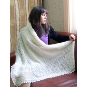 Оренбургский пуховый платок 1 сорт 100*100 см