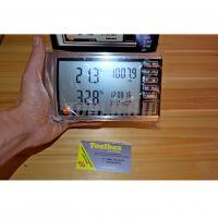 Tермогигрометр Testo 622, с отображением абсолютного давления, включая протокол калибровки, батарейки и крепление