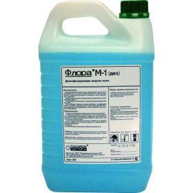 Флора М-1 / дезинфицирующее жидкое мыло / 5 л