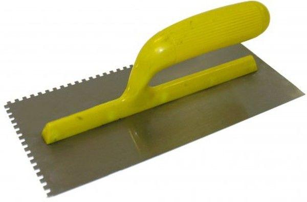 Кельма зубчатая для укладки плитки.