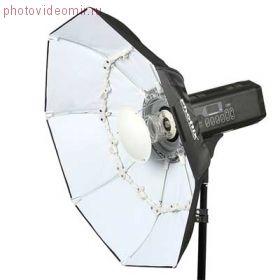 Складной круглый отражатель Phottix Luna Beauty (70см, белый)