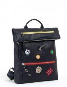 Молодёжный кожаный рюкзак