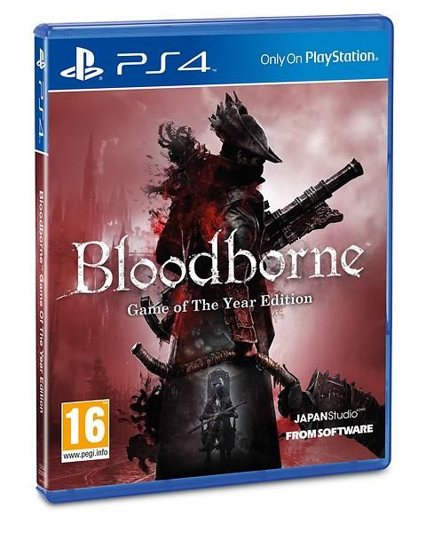 Игра Bloodborne Goty.Game of the Year Edition (PS4)