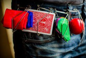 Универсальный держатель для шёлка, шаров, цветов, карт (металл)