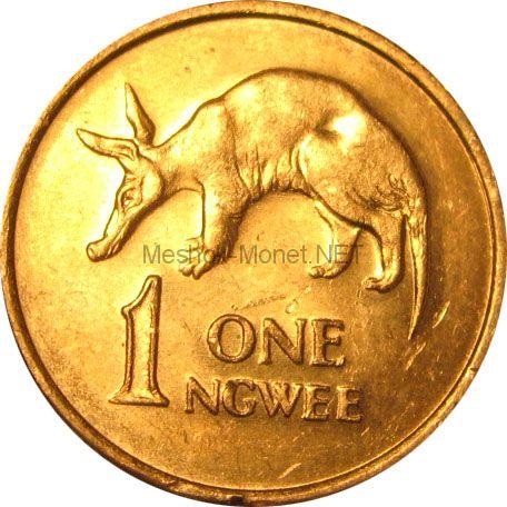 Замбия 1 нгвей 1983 г.