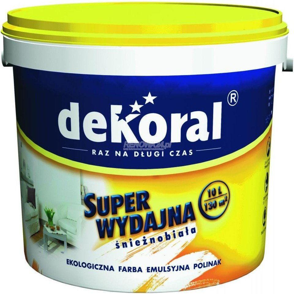 Краска для потолков Dekoral Polinak