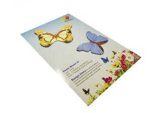 """Стикер """"2 бабочки"""" 4"""