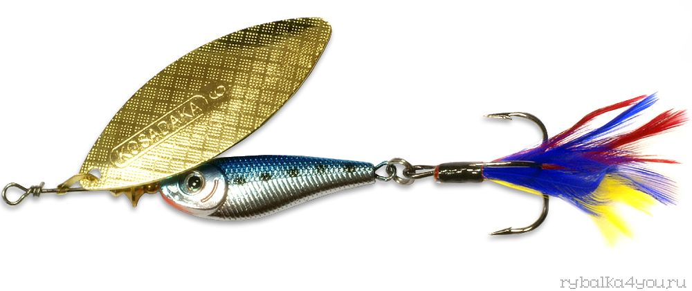 Купить Блесна Kosadaka Quant №2 9гр / цвет BT-Gold