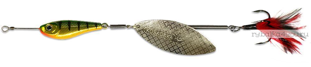 Купить Блесна Kosadaka Quant V2 №0 3,5гр / цвет HT-Silver