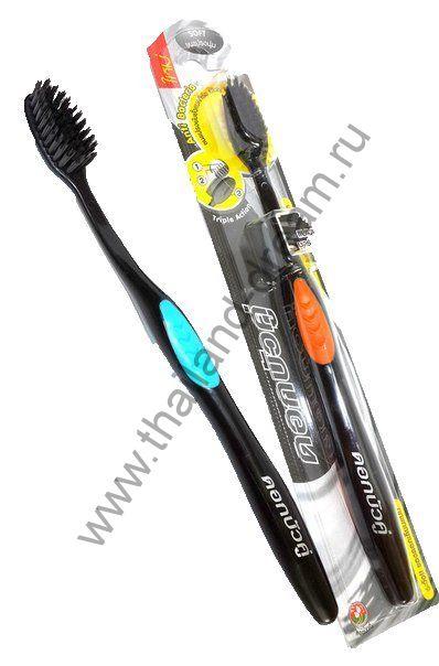 Зубная щётка из угля бамбука