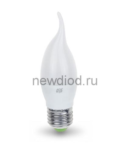 Лампа светодиодная LED-СВЕЧА НА ВЕТРУ-standard 7.5Вт 160-260В Е27 4000К 675Лм ASD