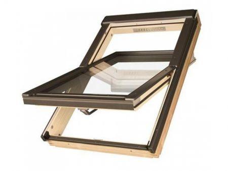 Мансардное окно Fakro Tehrmo cо среднеповоротным открыванием  FTP-V U5