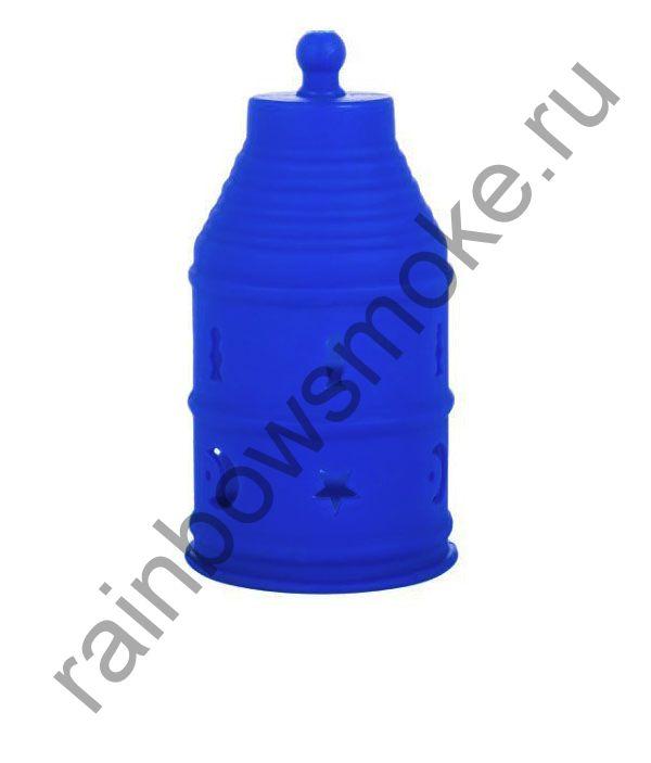 Колпак силиконовый синий