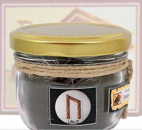 Руническая свеча Урус (Uruz)