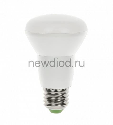 Лампа светодиодная LED-R63-standard 8Вт 160-260В Е27 3000К 720Лм ASD