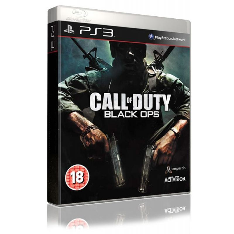 Игра Call of Duty Black Ops (PS3,русская версия)