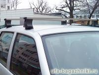 Багажник на крышу на Chevrolet NIVA (Атлант, Россия) - прямоугольные дуги