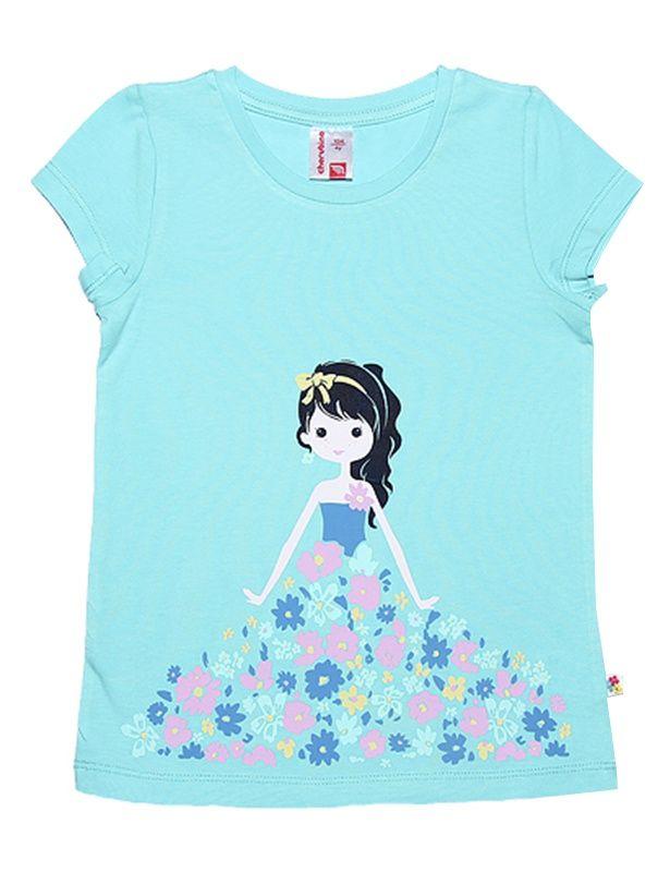 Бирюзовая футболка Принцесса