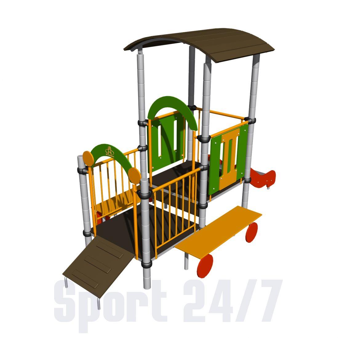 Детский игровой комплекс Трактор Romana 111.02.00