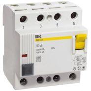 Выключатель дифференциальный УЗО ВД1-63 4Р 40А 30мА тип А ИЭК