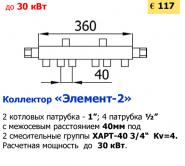 """Коллектор """"Элемент-2"""""""