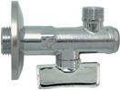 Кран угловой с фильтром с отражателем 1/2х3/8 Арт. 08710004