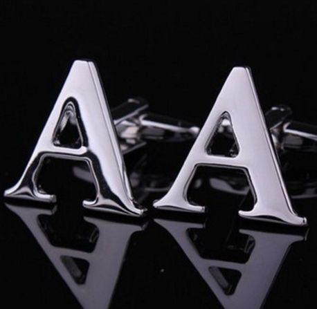 Запонки буква A