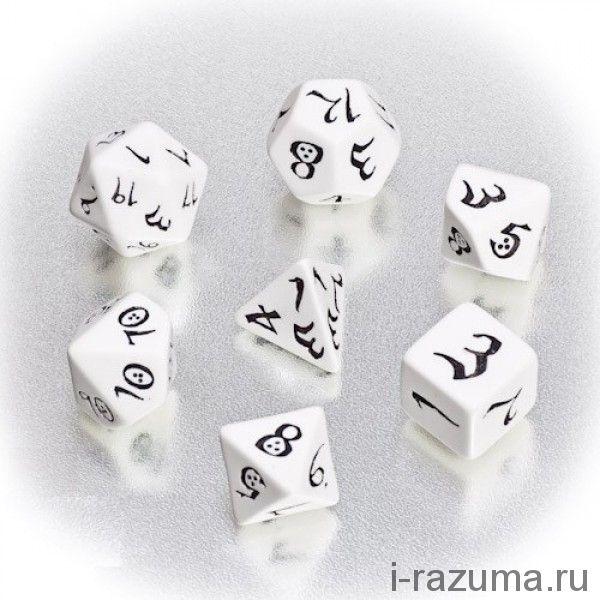 Кубики ДНД Эльфийские (D&D)